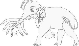 Vishuddha weisser Elefant